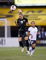 Kirsty Yallop. The USWNT tied New Zealand, 1-1, at an international friendly at Crew Stadium in Columbus, OH.