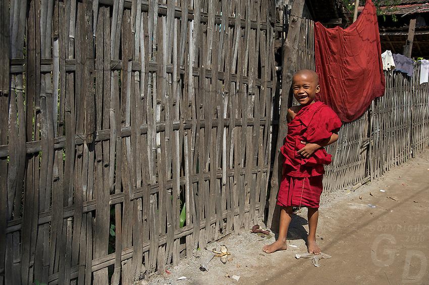Village of Kyauk Se near Mandalay, Myanmar