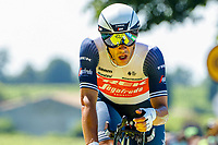 17th July 2021, St Emilian, Bordeaux, France;  STUYVEN Jasper (BEL) of TREK - SEGAFREDO during stage 20 of the 108th edition of the 2021 Tour de France cycling race, an individual time trial stage of 30,8 kms between Libourne and Saint-Emilion.