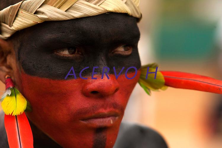 XI Jogos indígenas.<br /> Assuriní do Tocantins.<br /> Porto Nacional, Tocantins, Brasil.<br /> Foto Paulo Santos.<br /> 07/11/2011.