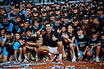 Novak Djokovic from Serbia after the Mutua Madrid Open Masters final match on day eight at Caja Magica in Madrid, Spain. Novak Djokovic beat Stefanos Tsitsipas. May 12, 2019. (ALTERPHOTOS/A. Perez Meca)