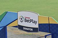 TULUA - COLOMBIA, 26-03-2021: Cortuluá y Deportes Quindío en partido por la fecha 13 como parte del Torneo BetPlay DIMAYOR I 2021 jugado en el estadio Doce de Octubre de la ciudad de Tuluá. / Cortulua and Deportes Quindio in the match for the date 13 as part of BetPlay DIMAYOR Tournament I 2021 played at Doce de Octubre stadium in Tulua city. Photo: VizzorImage / Gabriel Aponte / Staff