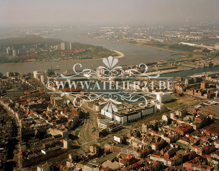 Maart 1999. Eilandje Antwerpen.
