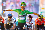 Peter Sagan (SVK) Bora-Hansgrohe wins Stage 5 of the 2019 Tour de France running 175.5km from Saint-Die-des-Vosges to Colmar, France. 10th July 2019.<br /> Picture: Pete Goding | Cyclefile<br /> All photos usage must carry mandatory copyright credit (© Cyclefile | Pete Goding)