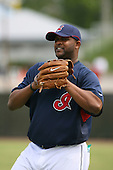 March 20th 2008:  C.C. Sabathia of the Cleveland Indians during a Spring Training game at Chain of Lakes Park in Winter Haven, FL.  Photo by:  Mike Janes/Four Seam Images