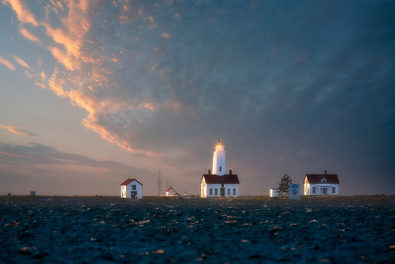 Dundeness Light Station, Washington.