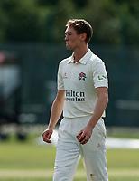 21st September 2021; Aigburth, Merseyside, England; County Championship Cricket, Lancashire versus Hampshire, Day 1; George Balderson of Lancashire