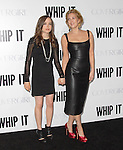 Drew Barrymore & Ellen Page at L.A. Premiere of Whip It held at The Grauman's Chinese Theater in Hollywood, California on September 29,2009                                                                   Copyright 2009 DVS / RockinExposures