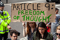"""30.05.2015 - """"The Great British Right Off! - Protest for the Human Rights Act"""""""