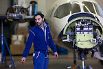 12 gennaio 2012, ore 13,22,Genova Sestri, Piaggio Aero<br /> collaudatore del Service Center e manutenzione,  del velivolo P. 180 Avanti II