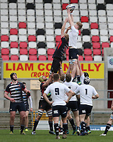 Wednesday 6th March 2019   Ulster Schools Cup - Semi Final 2<br /> <br /> Ben Gourley during the Ulster Schools Cup semi-final between MCB and Wallace High School at Kingspan Stadium, Ravenhill Park, Belfast, Northern Ireland. Photo by John Dickson / DICKSONDIGITAL