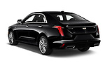 Car pictures of rear three quarter view of 2020 Cadillac CT4 Premium-Luxury 4 Door Sedan Angular Rear