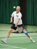 August 22, 2014, Netherlands, Amstelveen, De Kegel, National Veterans Championships, Mickael van Berkel<br /> Photo: Tennisimages/Henk Koster
