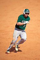 Farmingdale Rams third baseman Michael Ciullo (19) during a game against the Union Dutchmen on February 21, 2016 at Chain of Lakes Stadium in Winter Haven, Florida.  Farmingdale defeated Union 17-5.  (Mike Janes/Four Seam Images)