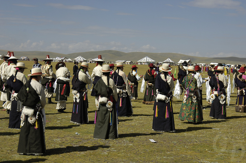 Tibet's province of Nakchu in Tibet hosts many festivals throughout the year, but one stands out more than any other; it is the highest horse racing festival in the world – a spectacle of colour, festivities and endurance for participants and visitors alike.<br /> Over 10,000 people will cross high passes of more than 4,000 metres by foot, horse and jeep to make their way to the Nakchu Racecourse, to race, eat, drink and make merry during this annual festival. This racecourse, at 4,500 metres, is undoubtedly the highest racecourse in the world.