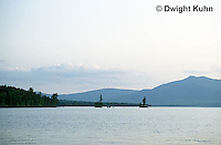 WF24-001z  Moosehead Lake, Maine - from Lily Bay State Park