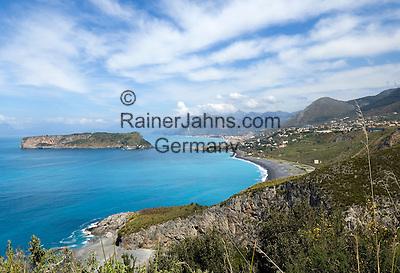 Italy, Calabria, Praia a Mare: popular resort at Riviera dei Cedri, island Isola di Dino