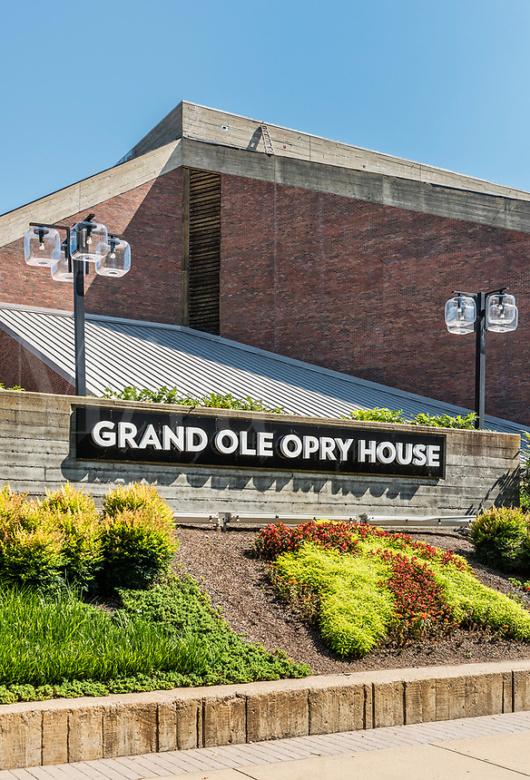 Grand Ole Opry House, Nashville Tennessee, USA