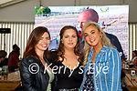 Aisling O'Keeffe Edel O'Connor and Amber Reidy Killarney enjoying the Kerry game in the Gleneagle Hotel on Saturday