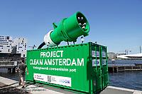 Nederland Amsterdam 2020. Project Clean Amsterdam. Foto Berlinda van Dam / Hollandse Hoogte