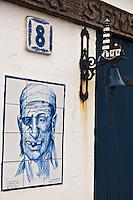 Europe/France/Aquitaine/64/Pyrénées-Atlantiques/Pays-Basque/Biarritz: Détail crampotte , cabane  des pêcheurs du port des pêcheurs. [Non destiné à un usage publicitaire - Not intended for an advertising use]