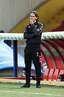 Filippo Inzaghi coach of SC Benevento dejection<br /> during the Serie A football match between SC Benevento and FC Internazionale at stadio Ciro Vigorito in Benevento (Italy), September 30, 2020. <br /> Photo Cesare Purini / Insidefoto