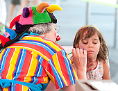 Face painting at the 2011 Open House.
