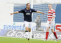 27/09/2008  Copyright Pic: James Stewart.File Name : sct_jspa01_falkirk_v_hamilton.STEVE LOVELL CELEBRATES AFTER SCORING FALKIRK'S FIRST.....James Stewart Photo Agency 19 Carronlea Drive, Falkirk. FK2 8DN      Vat Reg No. 607 6932 25.Studio      : +44 (0)1324 611191 .Mobile      : +44 (0)7721 416997.E-mail  :  jim@jspa.co.uk.If you require further information then contact Jim Stewart on any of the numbers above........