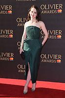 Sophie McShearer<br /> arriving for the Olivier Awards 2017 at the Royal Albert Hall, Kensington, London.<br /> <br /> <br /> ©Ash Knotek  D3245  09/04/2017