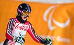 Alana Ramsay, PyeongChang 2018 - Para Alpine Skiing // Ski para-alpin.<br /> Alana Ramsay skis to the bronze in the women's standing super-G // Alana Ramsay skie à la bronze dans le super-G debout des femmes. 11/03/2018.