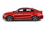 Car Driver side profile view of a 2019 Audi RS-3 4WD 4 Door Sedan