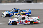 #30: Danny Bohn, On Point Motorsports, Toyota Tundra North American Motor Car/Blue Buffalo #75: Parker Kligerman, Henderson Motorsports, Chevrolet Silverado Food Country