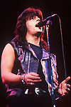 Various live photographs of rock vocalist and solo artist Joe Lynn Turner