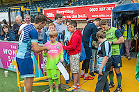 Matthew Bloomfield of Wycombe Wanderers  during the Wycombe Wanderers 2016/17 Team & Individual Squad Photos at Adams Park, High Wycombe, England on 1 August 2016. Photo by Jeremy Nako.