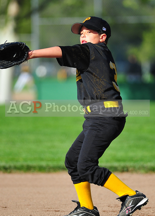 The PNLL AA Pirates at the Pleasanton Sports Park April 14, 2010. (Photo by Alan Greth)