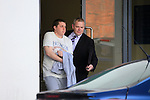 Daniel Kavanagh leaving Drogheda district court after being charged in relation to the armed robbery of Clogherhead Post office on the 20/4/15 pictured on right with Det Sergent Fearghal O'Toole Drogheda Garda Station.<br /> Picture www.newsfile.ie<br /> <br /> <br />  <br /> Issue Date: 21/04/2015<br />  <br /> Garda-Man charged in connection with robbery Clogherhead County Louth 20th April 2015<br /> Gardaí have charged a man, 24 years, in connection with a robbery which occurred at Clogherhead, County Louth yesterday, Monday 20th April 2015. The man appeared before Drogheda District Court this morning Tuesday 21st April 2015 at 10.30am. He was remanded in custody and is due to appear before Clover Hill District Court next Tuesday, 28th April 2015 at 10.30am. <br /> <br /> Two other men arrested in connection with this investigation remain in Garda custody, detained under Section 30 of the Offences Against the State Act, 1939 as amended, at Drogheda and Dundalk Garda Stations.<br /> <br /> Ref. No. 334/15<br /> <br /> Previous press release refers,<br /> <br /> As part of an ongoing operation by the Drugs and Organised Crime Bureau, three men were arrested following an armed robbery of a Post office in Clogherhead, Co. Louth today Monday the 20th April, 2015. <br /> <br /> The incident occurred at approximately 11.45am when three men entered the Post Office, one armed with a sawn-off shotgun. As they left the Post Office they were confronted by Gardaí. A 25 year old man was arrested by Gardaí attached to the Drugs and Organised Crime Bureau. A sawn-off shotgun and a quantity of cash were also recovered. <br /> <br /> With the assistance of local Gardaí and the Regional Support Unit, two further men (24 and 36 years) were arrested. They are detained at Dundalk and Drogheda Garda stations under the provisions of section 30 of the Offences Against the State Act, 1939 as amended.<br />  <br /> Gardaí are seeking witnesses to the incident, particularly anyone who was i