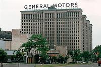 Detroit:  General Motors Building on Grand Boulevard.  Albert Kahn & Assoc., 1922.