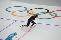 OLYMPIC GAMES: PYEONGCHANG: 18-02-2018, Gangneung Oval, Long Track, 500m Ladies, Hong Zhang (CHN), ©photo Martin de Jong