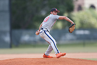 Ben Gilbert (58) of Lake Wales High School in Babson Park, Florida during the Under Armour Baseball Factory National Showcase, Florida, presented by Baseball Factory on June 13, 2018 the Joe DiMaggio Sports Complex in Clearwater, Florida.  (Nathan Ray/Four Seam Images)