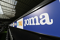 A general view of the LETOU and Joma branding on the new away dugout by the tunnel of the Liberty Stadium prior to kick off of the Premier League match between Swansea City and Manchester United at The Liberty Stadium, Swansea, Wales, UK. Saturday 18 August 2017