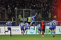 Torjubel Maik Franz (Karlsruher SC) beim 0:1