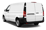 Car pictures of rear three quarter view of 2019 Mercedes Benz Vito Select 4 Door Car Van Angular Rear