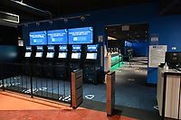 COLLINSVILLE, IL - MARCH 15:  FanDuel Group announcement for the grand opening of the FanDuel Sportsbook inside FanDuel Sportsbook & Horse Racing (formerly Fairmount Racetrack) in Collinsville, Illinois on March 15, 2021. (Photo by Michael Thomas/PictureGroup)
