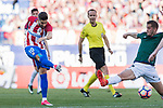 Yannick Ferreira Carrasco of Atletico de Madrid in action during the La Liga match between Atletico de Madrid vs Osasuna at Estadio Vicente Calderon on 15 April 2017 in Madrid, Spain. Photo by Diego Gonzalez Souto / Power Sport Images