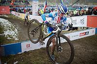 Katerina Nash (CZE/Luna)<br /> <br /> Elite Women's Race<br /> <br /> 2015 UCI World Championships Cyclocross <br /> Tabor, Czech Republic
