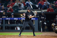Jake Snider (20) of the Louisville Cardinals at bat against the Notre Dame Fighting Irish in Game Eight of the 2017 ACC Baseball Championship at Louisville Slugger Field on May 25, 2017 in Louisville, Kentucky. The Cardinals defeated the Fighting Irish 10-3. (Brian Westerholt/Four Seam Images)