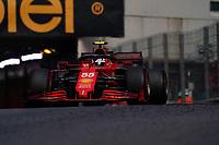 23rd May 2021; Principality of Monaco; F1 Grand Prix of Monaco,   Race Day; Carlos Sainz Jr ESP 55 , Scuderia Ferrari Mission Winnow