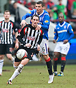 PARS MARK KERR GET SAWAY FROM RANGERS' LEE MCCULLOCH