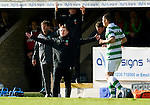 St Johnstone v Celtic..30.10.10  .Neil Lennon appeals for a foul.Picture by Graeme Hart..Copyright Perthshire Picture Agency.Tel: 01738 623350  Mobile: 07990 594431