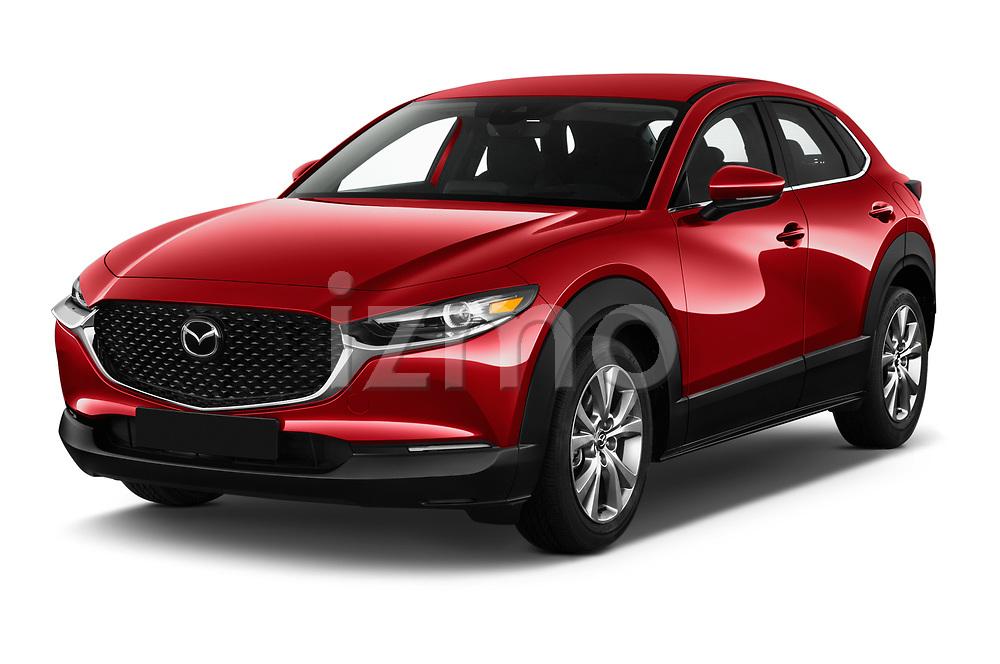 2020 Mazda CX-30 Select 5 Door SUV Angular Front automotive stock photos of front three quarter view